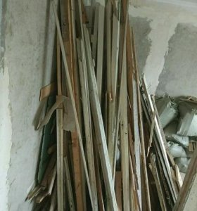 Дрова - рейки деревянные со стройки