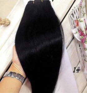 Натуральный волос на тресс