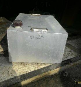 Емкости алюминиевые под жидкость