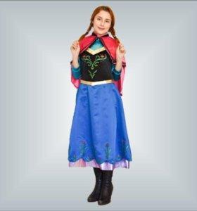 Прокат костюма Анны из Холодного сердца