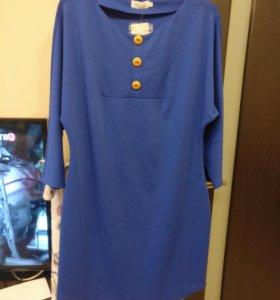 Платье-туника, размеры 44 и 54.