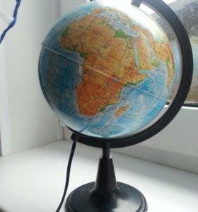 Глобус- светильник
