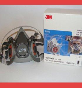 Полумаска 3М серии 6000