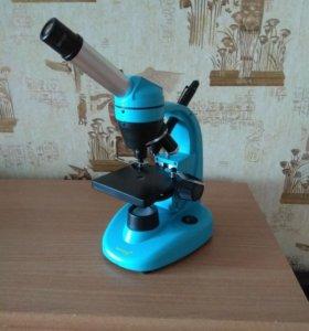 Микроскоп levenhuk 40l NG, монокулярный.