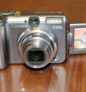 Цифровой фотоаппарат CANON Powershot A 620