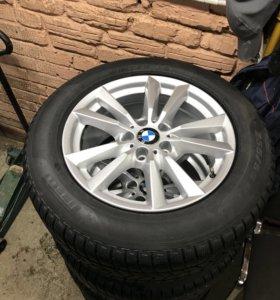 Зимние колеса R18 BMW X5 (диски+шины)