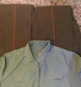 Военная форма: 2-е брюк и рубашка