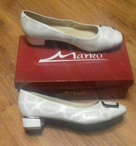 Новые туфли натуральная кожа