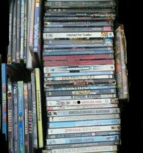 DVD диски фильмы игры
