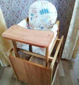 Столик-трансформер для кормления