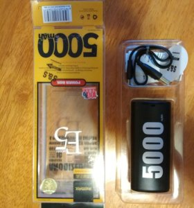 Новый Power bank remax 5000mah