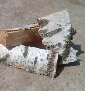 Дрова. Колотые дрова (береза, дуб, осина ...)