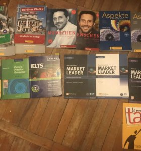 Учебники немецкого языка. Английского языка