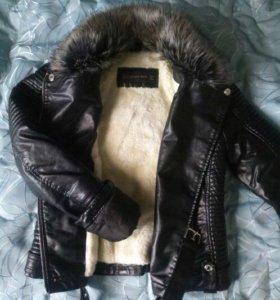 Куртка теплая косуха