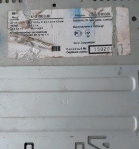 Магнитола sony cdx g1003ur