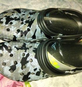 Новые кроксы duet clog crocs 44р