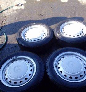 Комплект колёс 185/65R15 Всесезонные Bridgestone