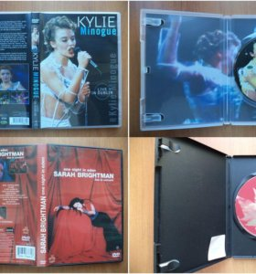 DVD с концертами и фильмами
