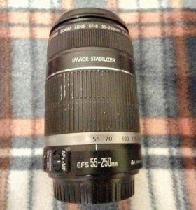 Продам объектив Canon EFS 55-250 mm
