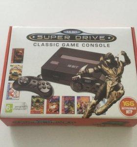 Sega Super Drive + 166 игр