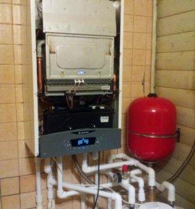 Монтаж систем отопления, и водоснабжения!