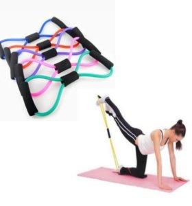 Эспандер для йоги и пилатеса.