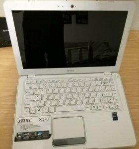 Нетбук MSI X-Slim x370