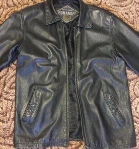 Куртка мужская кожаная натуральная