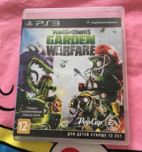 "Диск с игрой ,,Plants vs Zombies Garden Warfare"""
