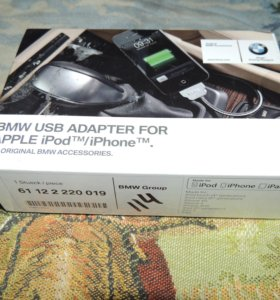 Bmw USB адаптер Apple iPod/iPhone 61 12 2 220 019
