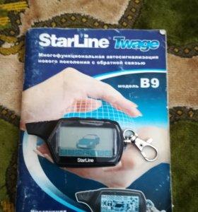 Брелок StarLine черный