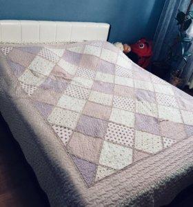 Кровать+матрас+тумба