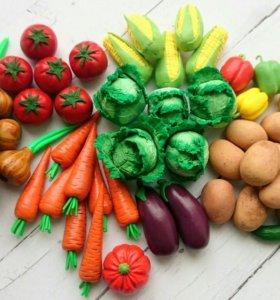 Детские развивающие овощи