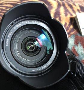 Объектив SIGMA 17-50mm F2.8 Canon