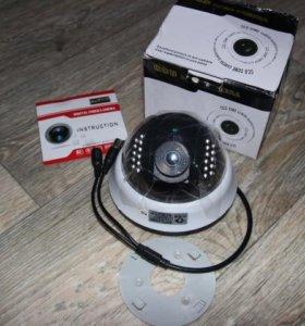Купольная камера с инфракрасной подсветкой