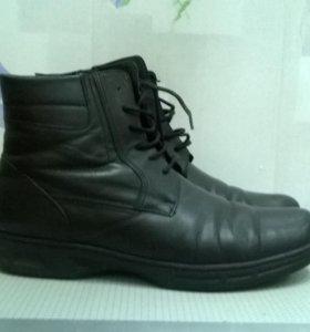 Ботинки зима 44 р-р