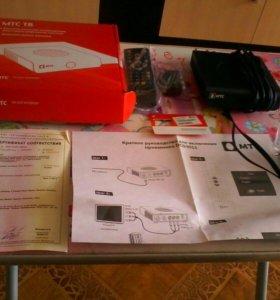 Новые тв-приставка, тв-модуль и Wi-Fi роутер МТС
