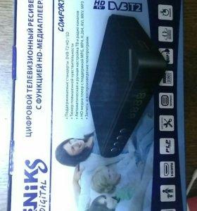ТВ приставка цифровая (тюнер) DVB-T2 на 20 каналов