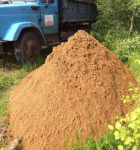 Доставка песок,грунт,щебень,гравий,торф,ПГС