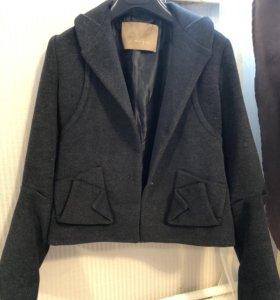Пиджак шерсть bcbg Max Azria (жакет, куртка)