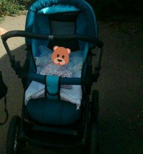 Зимняя коляска детская в хорошем состоянии