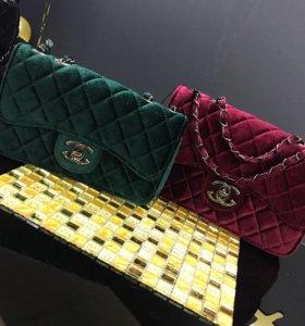 Бархатные сумочки