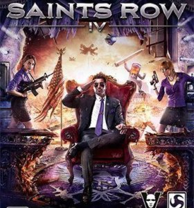 диск игры SAINTS ROW 4