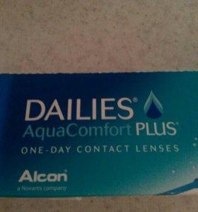 Продам контактные линзы
