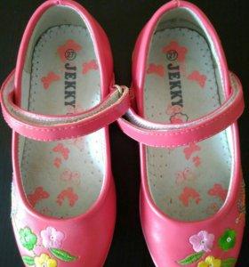 Туфли для девочки летние