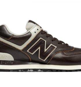 Кроссовки New Balance 574 мужские кожаные