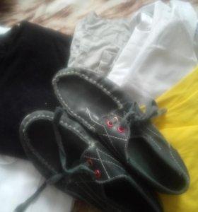 Одежда и обувь на мальчика 8-9 лет