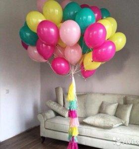 Воздушные шары, шарики с гелием