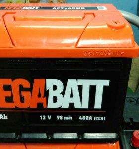 Аккумулятор Megabatt 60Ач 480 А (Курск)