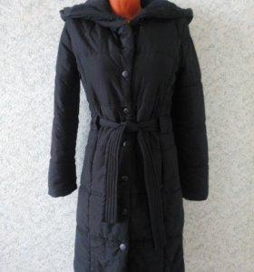 Пальто зимнее Zolla с капюшоном